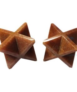 Red Aventurine Big Merkaba Stars