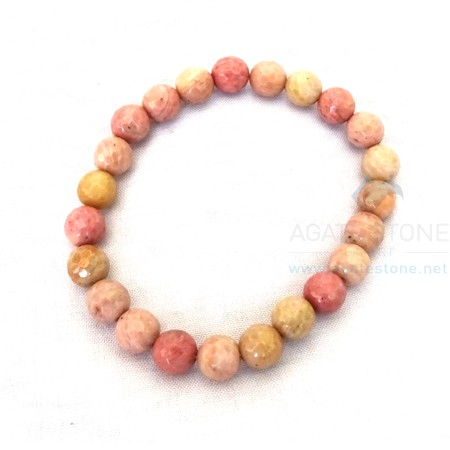 Rhodonite Beaded Bracelets
