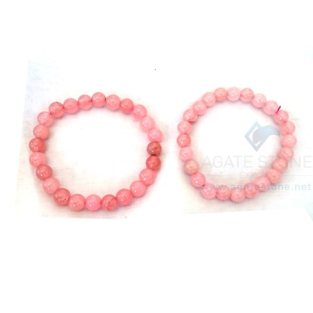 Rose Quartz Beaded Bracelets