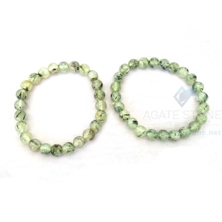 Rutilated Quartz Beaded Bracelets