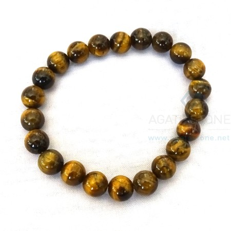 Tiger Eye Beaded Bracelets