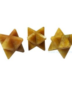 Yellow Aventurine Big Merkaba Stars