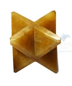 Yellow Aventurine Small Merkaba Stars