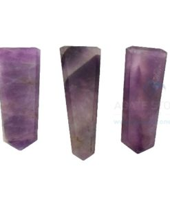 Amethyst Gemstone Flat Pencil Points