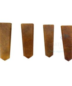 Camel Jasper Loose Flat Pencil Points
