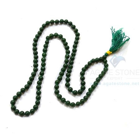 Green Aventurine Japmala Necklace