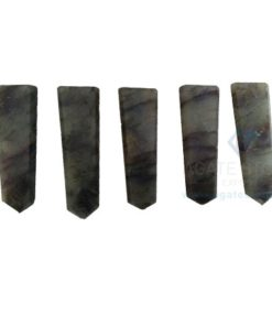 Labradorite Flat Gemstone Pencil Points