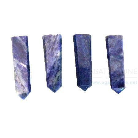 Lapis Lazuli Loose Flat Pencil Point