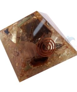 Mix Gemstones Orgonite Pyramid