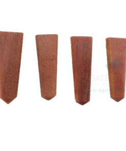 Peach Aventurine Gemstone Flat Pencil Points