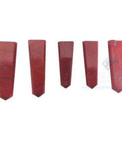 Red Jasper Flat Gemstone Pencil Point