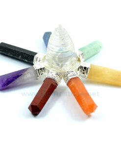 7 Chakra Energy Generator with Crystal Quartz Shree Yantra