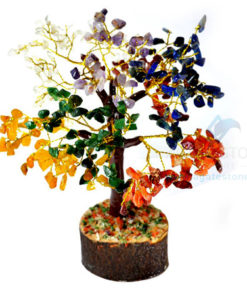7 Chakra Gemstone Chips Tree