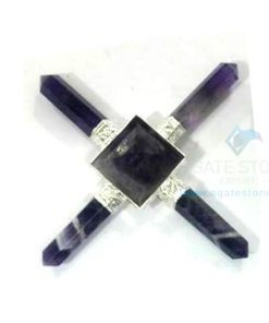 Amethyst Energy Generator with 4 Amethyst Points