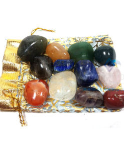 Gemstone 12 Tumbled Stone Set