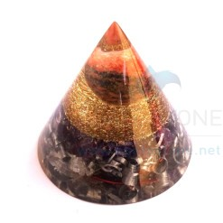 Latest Amethyst Big Cone Cum Orgone Antenna with Lovely Aluminium Chips