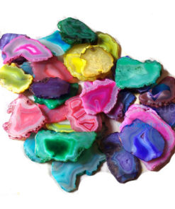 Mix Colored Agate Slices Wholesale