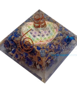 Orgone Flower of Life Pyramids