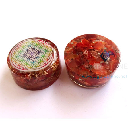 Red Carnelian Orgonite Tower Booster