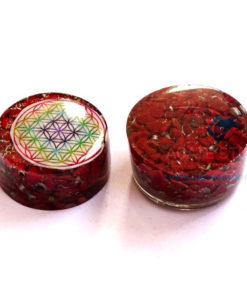 Red Jasper Orgonite Tower Booster