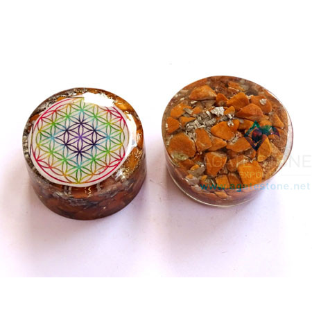 Yellow Jasper Orgonite Tower Booster