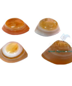 Yellow Onyx Agate Eyes