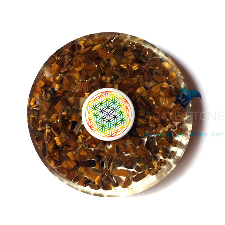 orgone-tiger-eye-tea-coasters