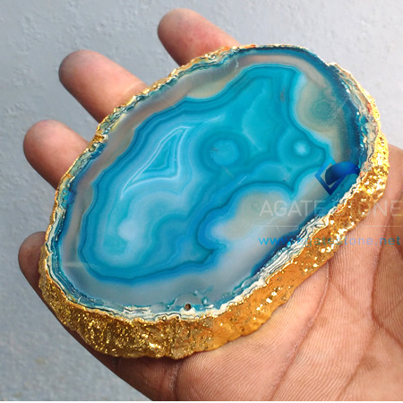 blue-dyed-grey-agate-gold-plated-coasters