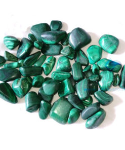 malachite-tumbled-stones