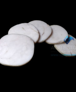 white-agate-coasters