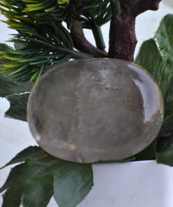 Crystal Quartz Palm Stone