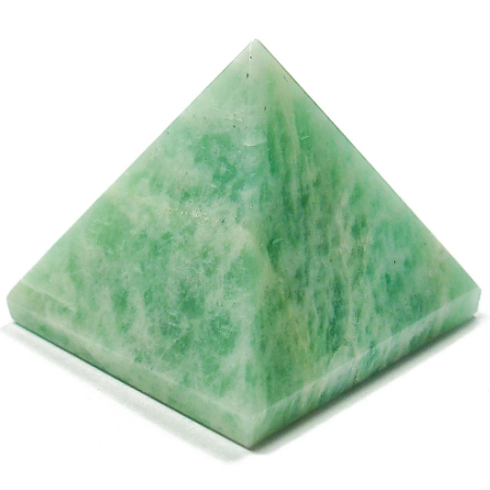 Amazonite Gemstone Pyramids | Crystal Pyramids | Spiritual Energy | Healing Crystals | Reiki | Chakra | Natural Stones | Gift For Her